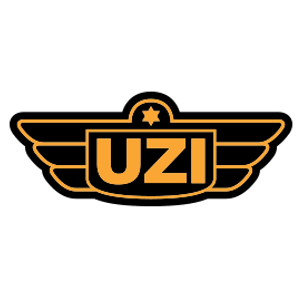 UZI il marchio Israeliano produttore delle note pistole mitragliatrici. Fornisce al S.I.D. specifiche attrezzature d'addestramento.