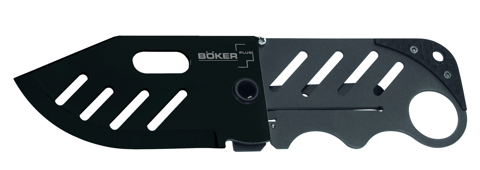 01BO011 - BOKER  PLUS CREDIT CARD KNIFE BLACK