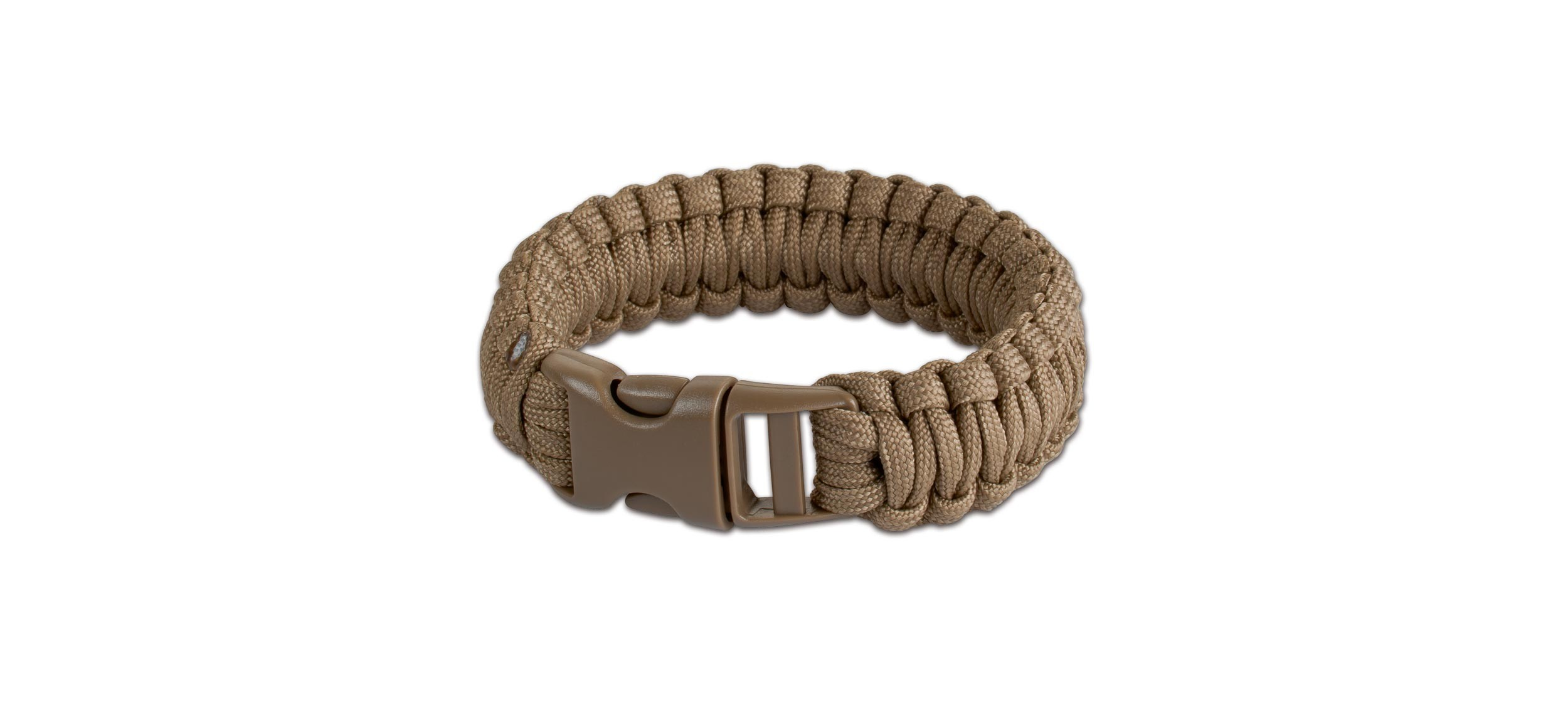 09JG243 - BOKER PLUS SURVIVAL BRACELET COYOTE 9