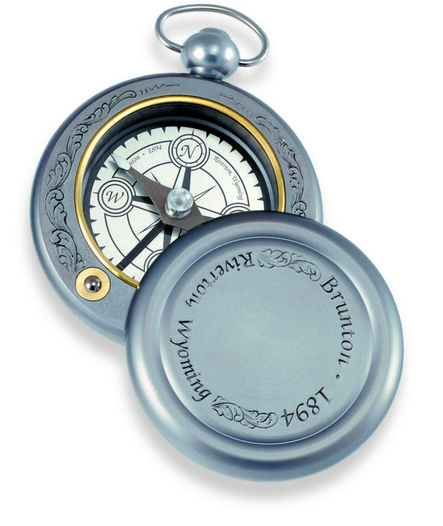 F-1894DWB - BRUNTON Gentleman's Pocket Compass