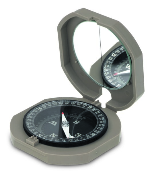 F-2200 - BRUNTON Cadet Compass, Training Aid for Pocket Transit