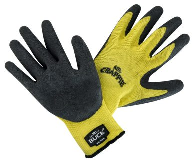 89106-LRG - BUCK Mr. Crappie Fishing Gloves