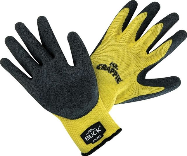 89106-MED - BUCK Mr. Crappie Fishing Gloves