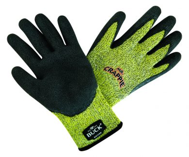 89107-MED - BUCK Mr. Crappie Cut Resistant Gloves