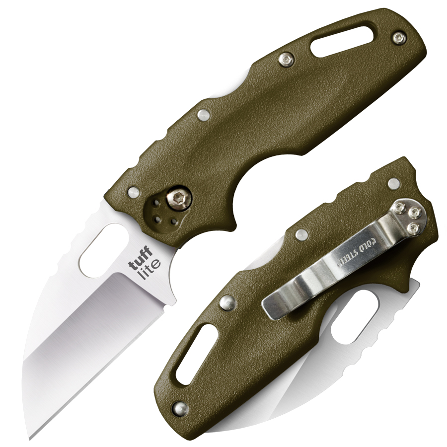 20LTG - COLD STEEL Tuff Lite Plain OD Green