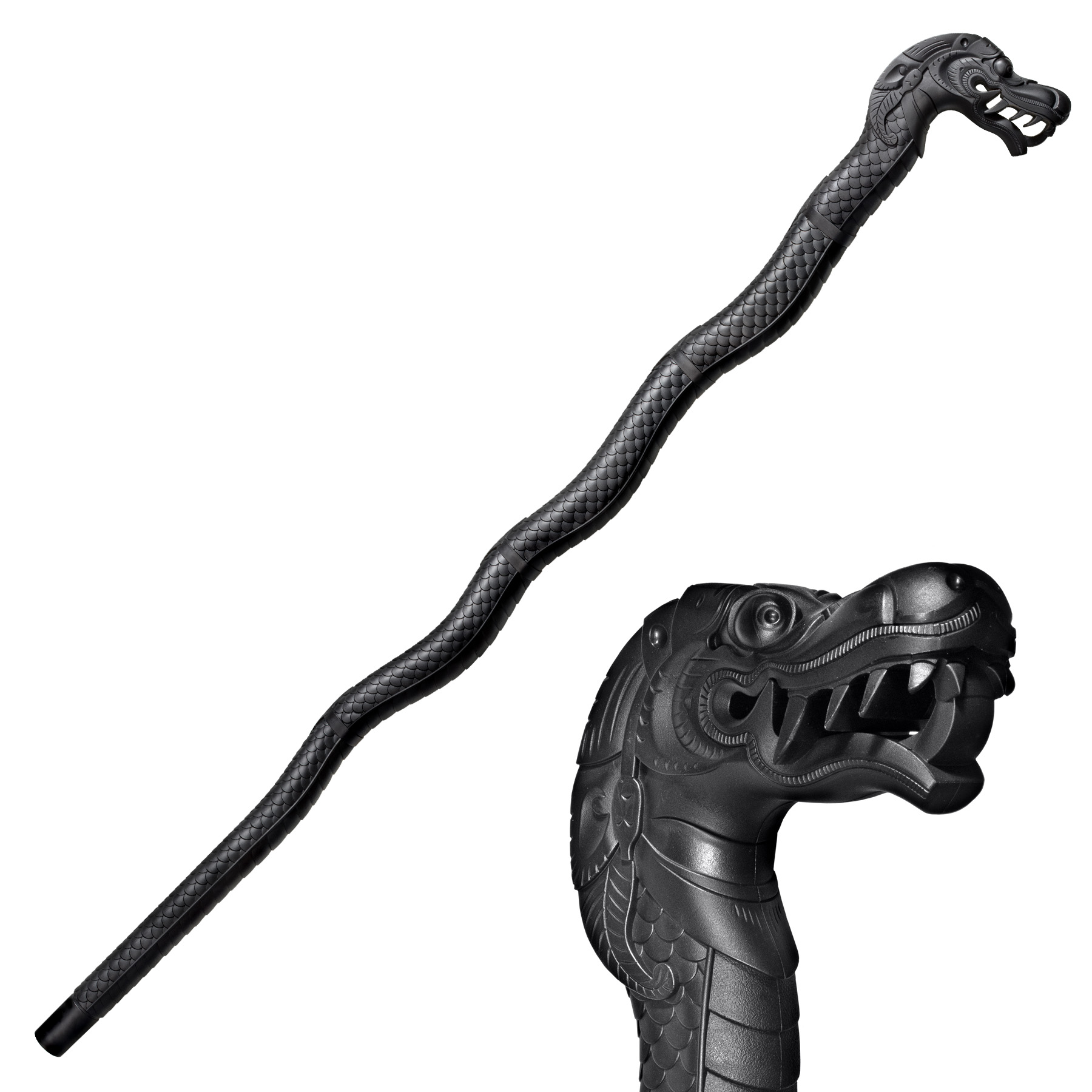 91PDRZ - COLD STEEL Dragon Walking Stick