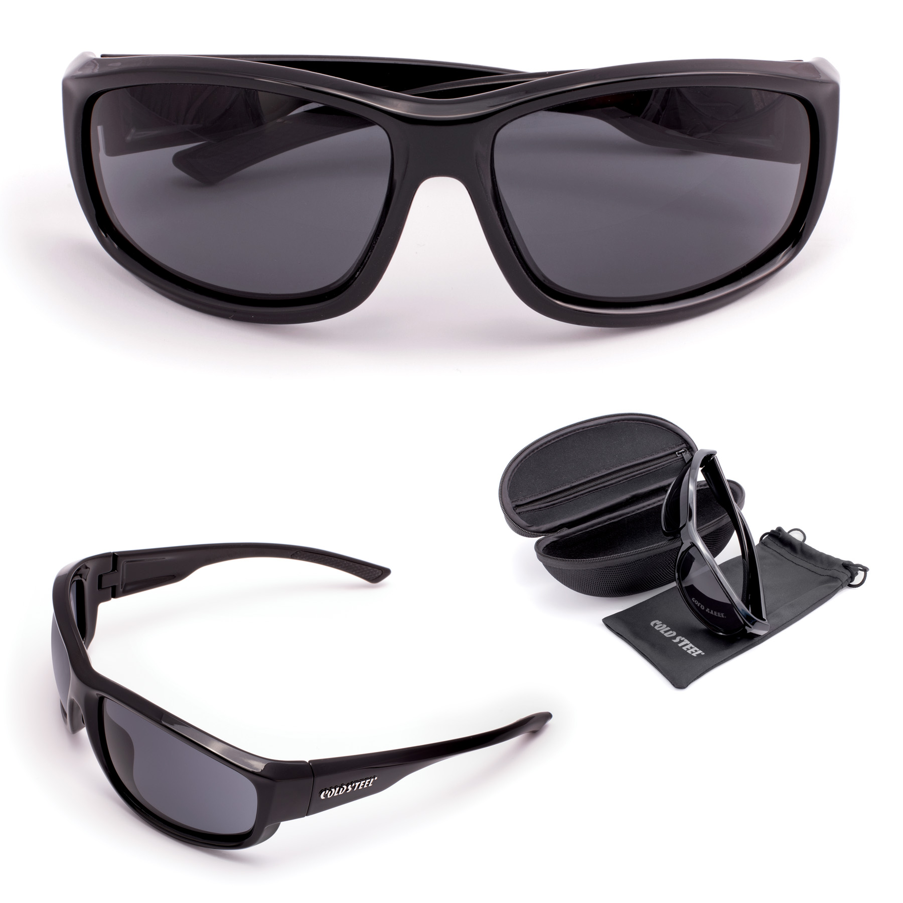 EW21 - COLD STEEL Battle Shades Mark II (Gloss Black)
