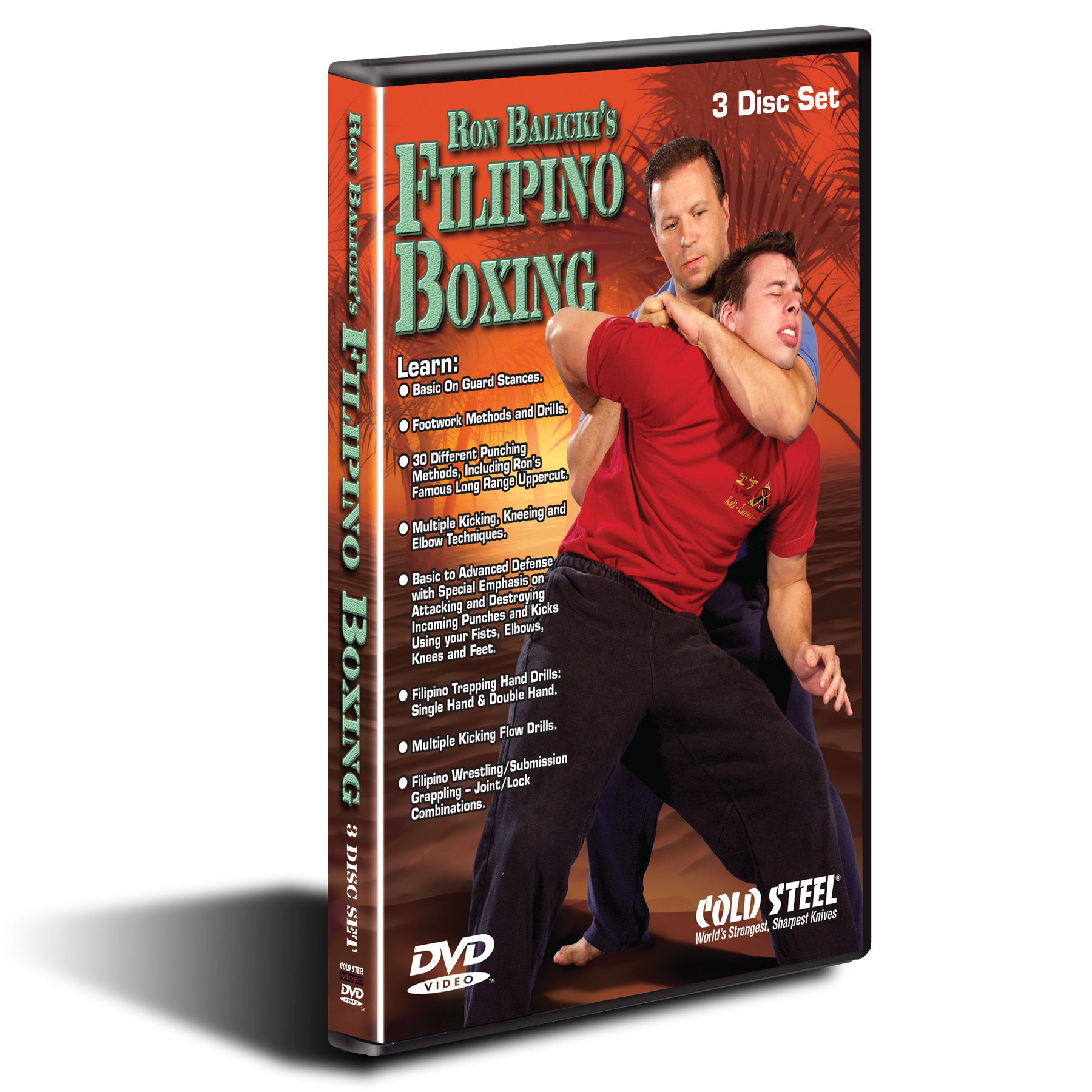 VDFB - COLD STEEL Ron Balicki?s Filipino Boxing DVD