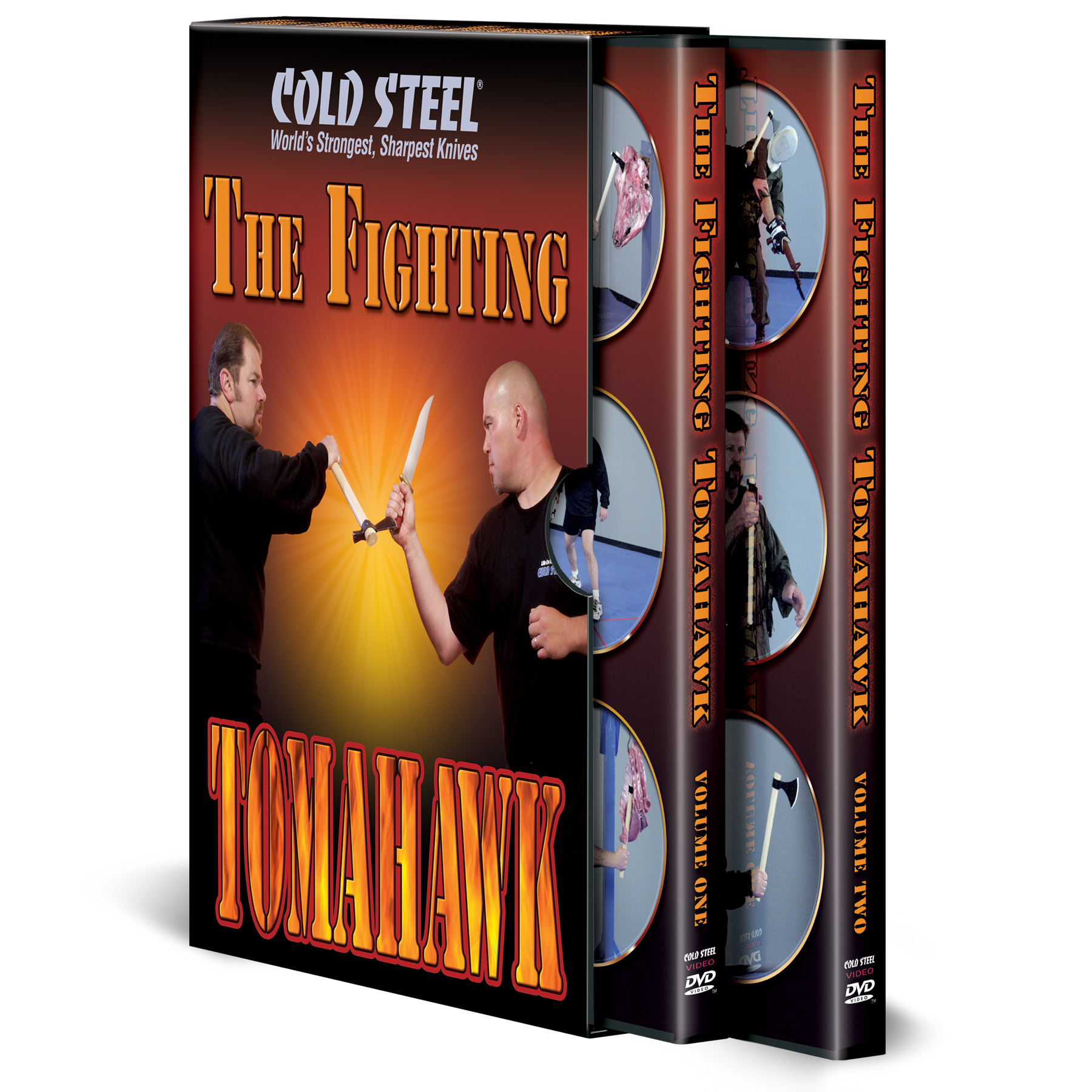 VDFT - COLD STEEL The Fighting Tomahawk DVD