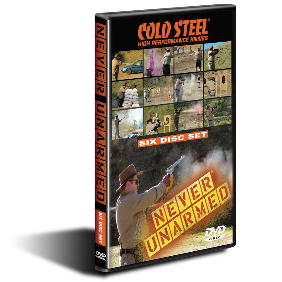 VDNU - COLD STEEL Never Unarmed DVD