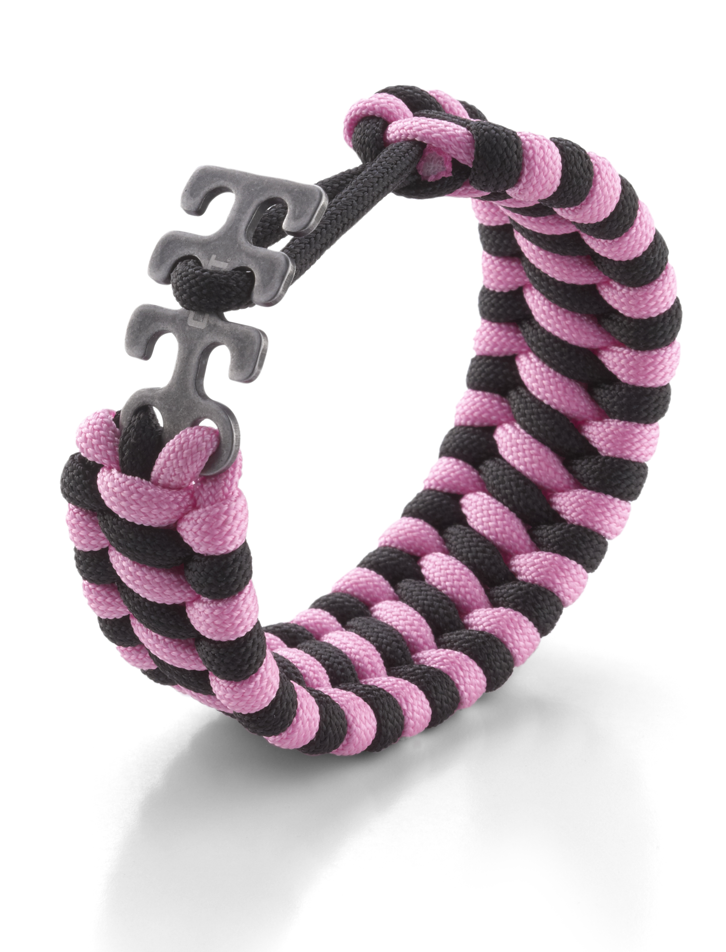 9400PK - CRKT Adjustable Paracord Bracelet Pink/Black
