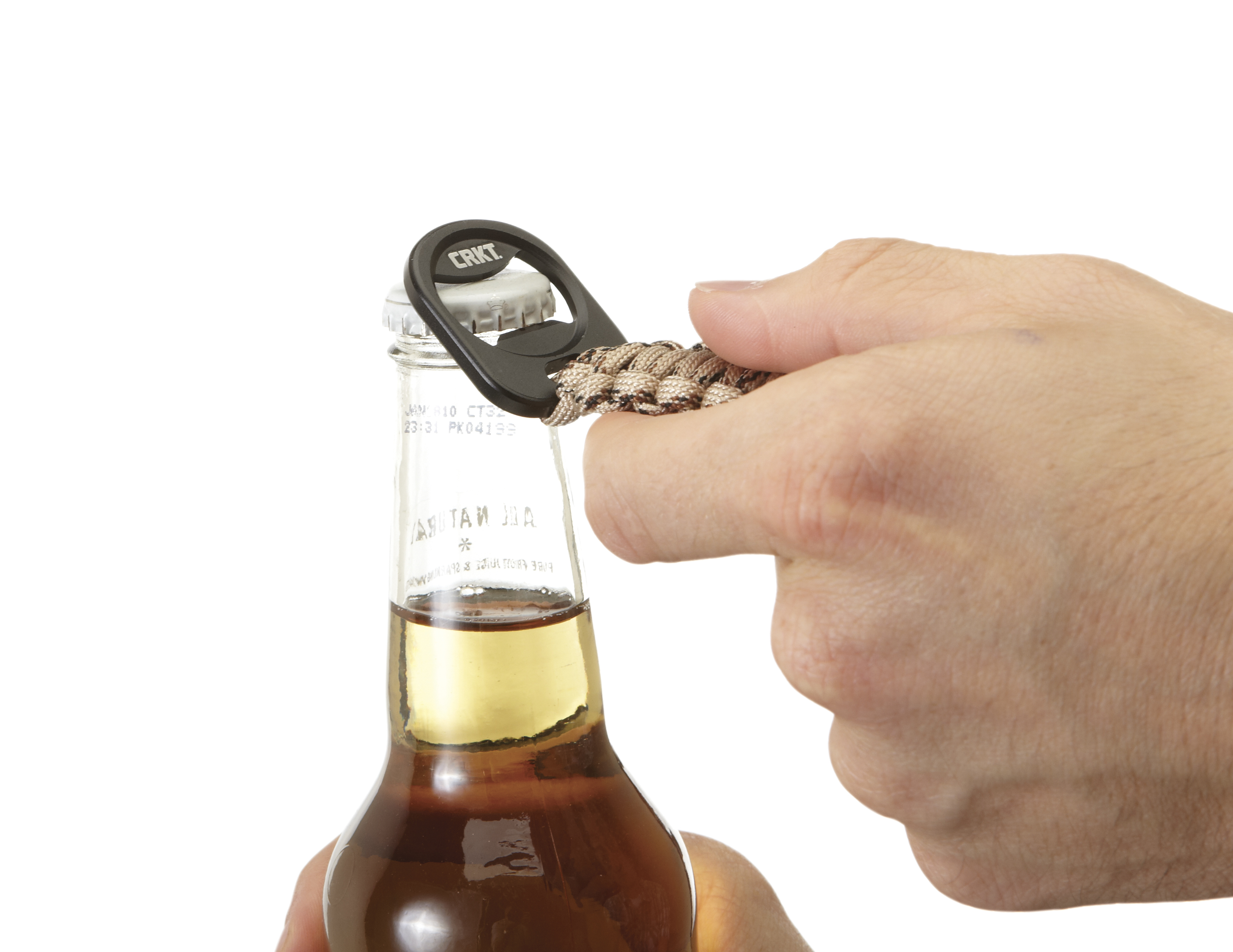 9450T - CRKT Bottle Opener Paracord Accessory Tan