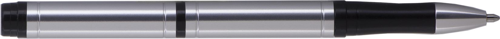 PT - FISHER Silver Pocket Tec Space Pen - Black Gift Boxed