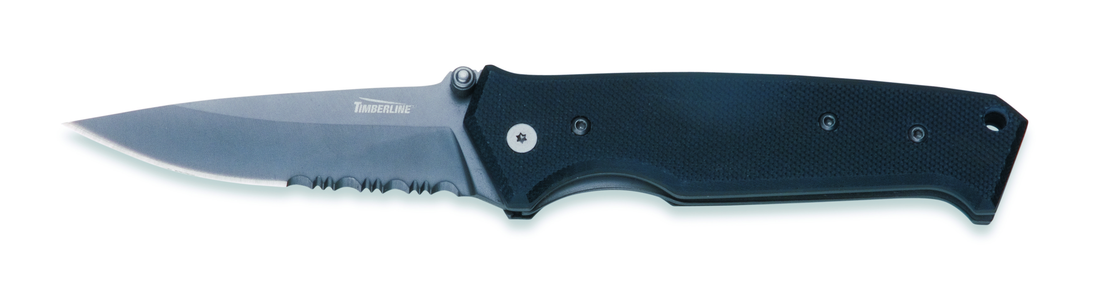 1231 - GATCO TIMBERLINE VALLOTTON SIGNATURE KNIFE, LARGE COMBO EDGE
