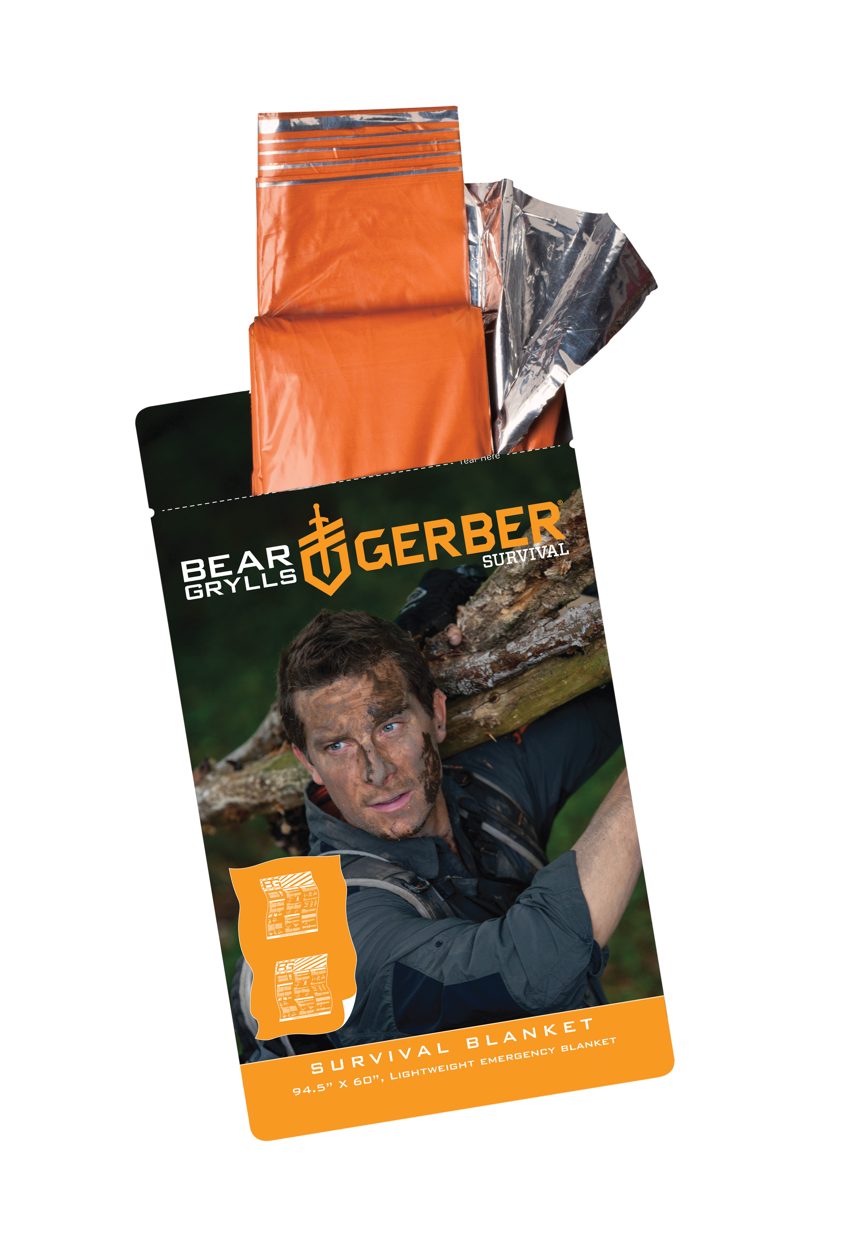 31-001785 - GERBER Bear Grylls Survival Blanket Blister