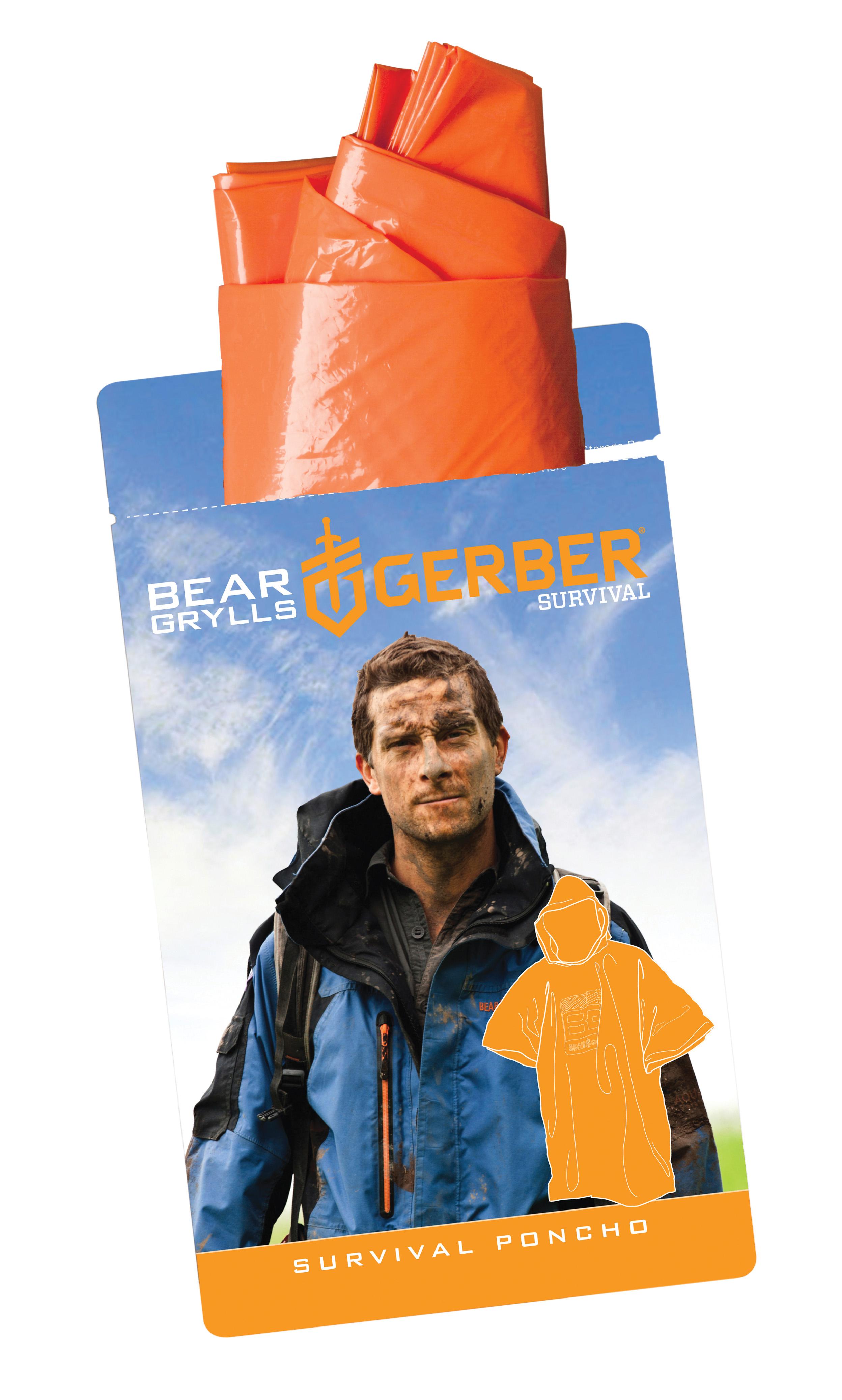 31 001863 gerber myth blood tracking light blister 31 001790 gerber bear grylls poncho blister aloadofball Choice Image