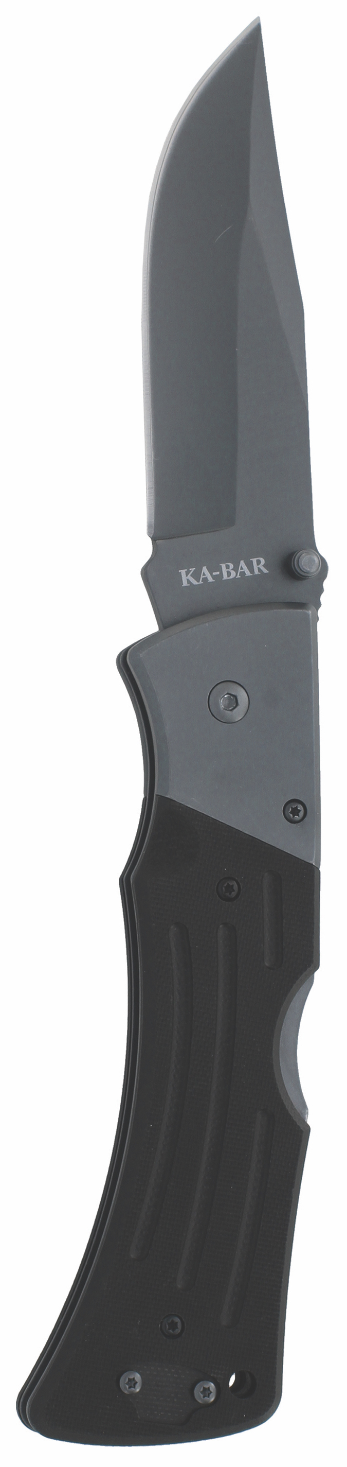 3062 - KA-BAR G10 MULE FOLDER II-BLACK, STR EDGE