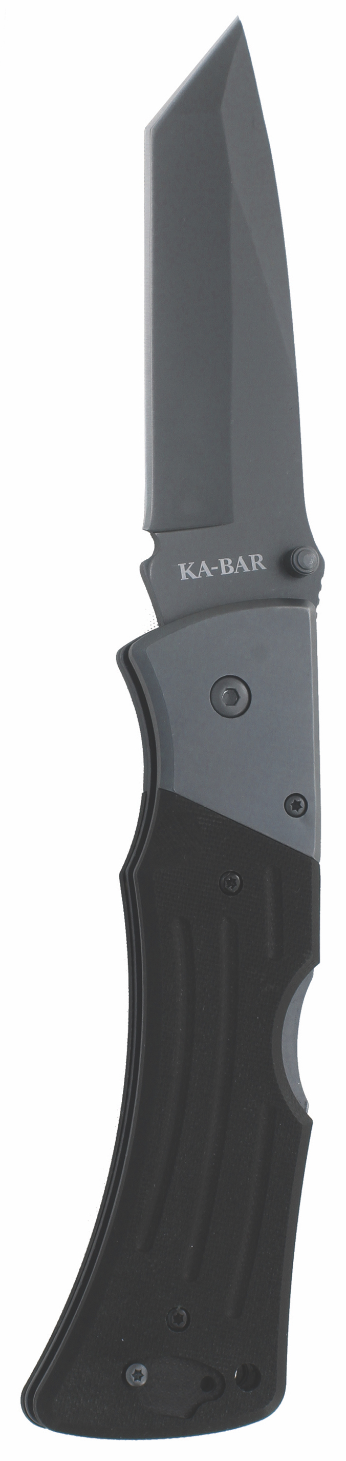 3064 - KA-BAR G10 MULE TANTO FOLDER II-BLACK, STR EDGE
