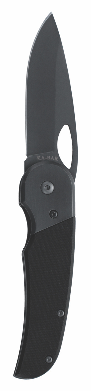 3079 - KA-BAR TEGU FOLDER, G10 HANDLE