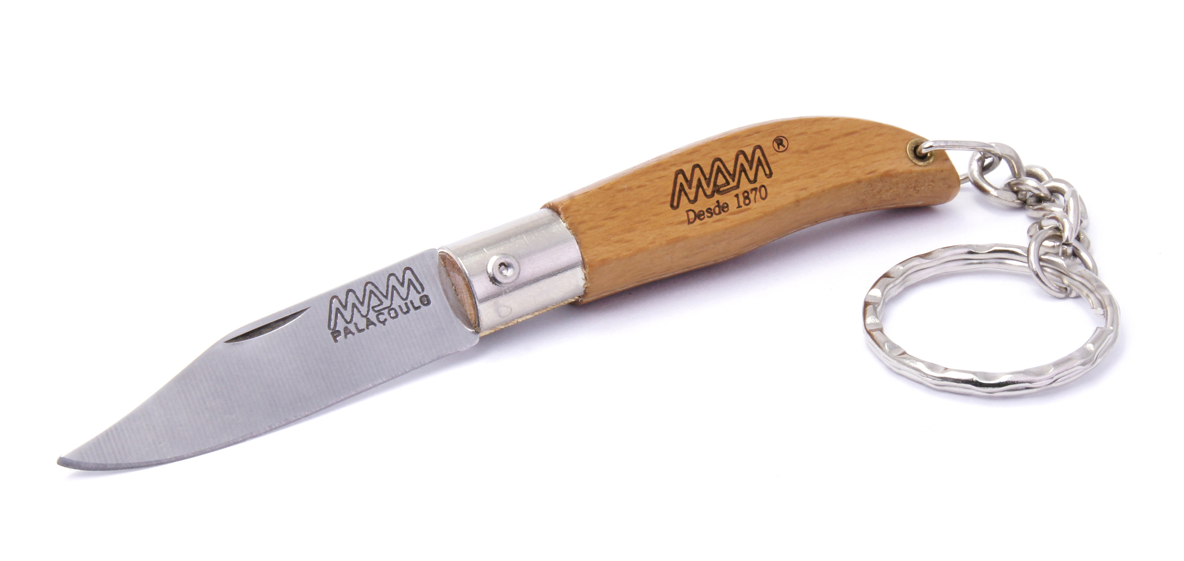 2000 - MAM IBERICA POCKET KNIFE WITH KEY RING 45mm