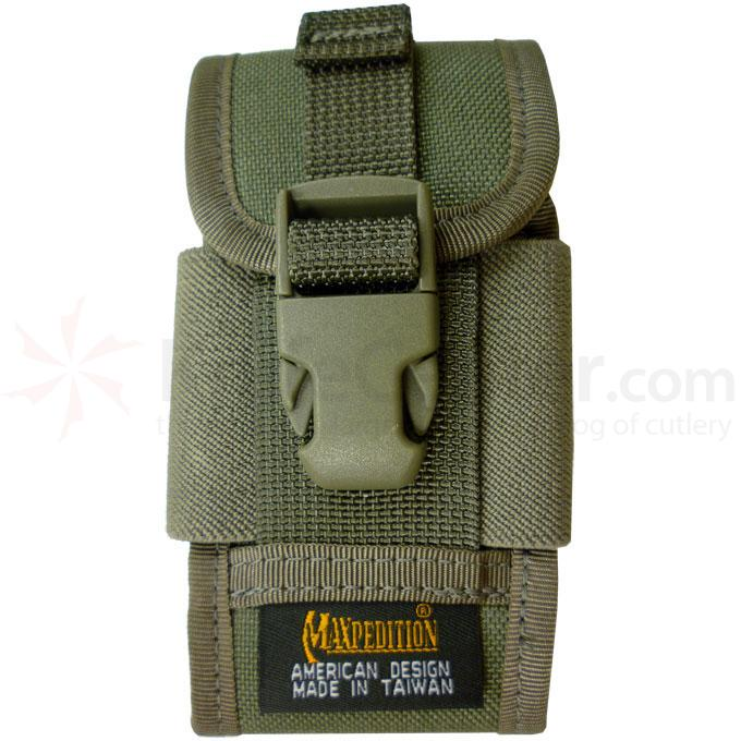 0112F - MAXPEDITION Clip-on PDA Phone Holster (Foliage Green)
