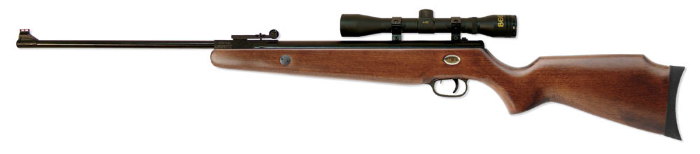 1051 - MARKSMAN Teton Air Rifle Combo w/ 4x32 scope .177 Caliber