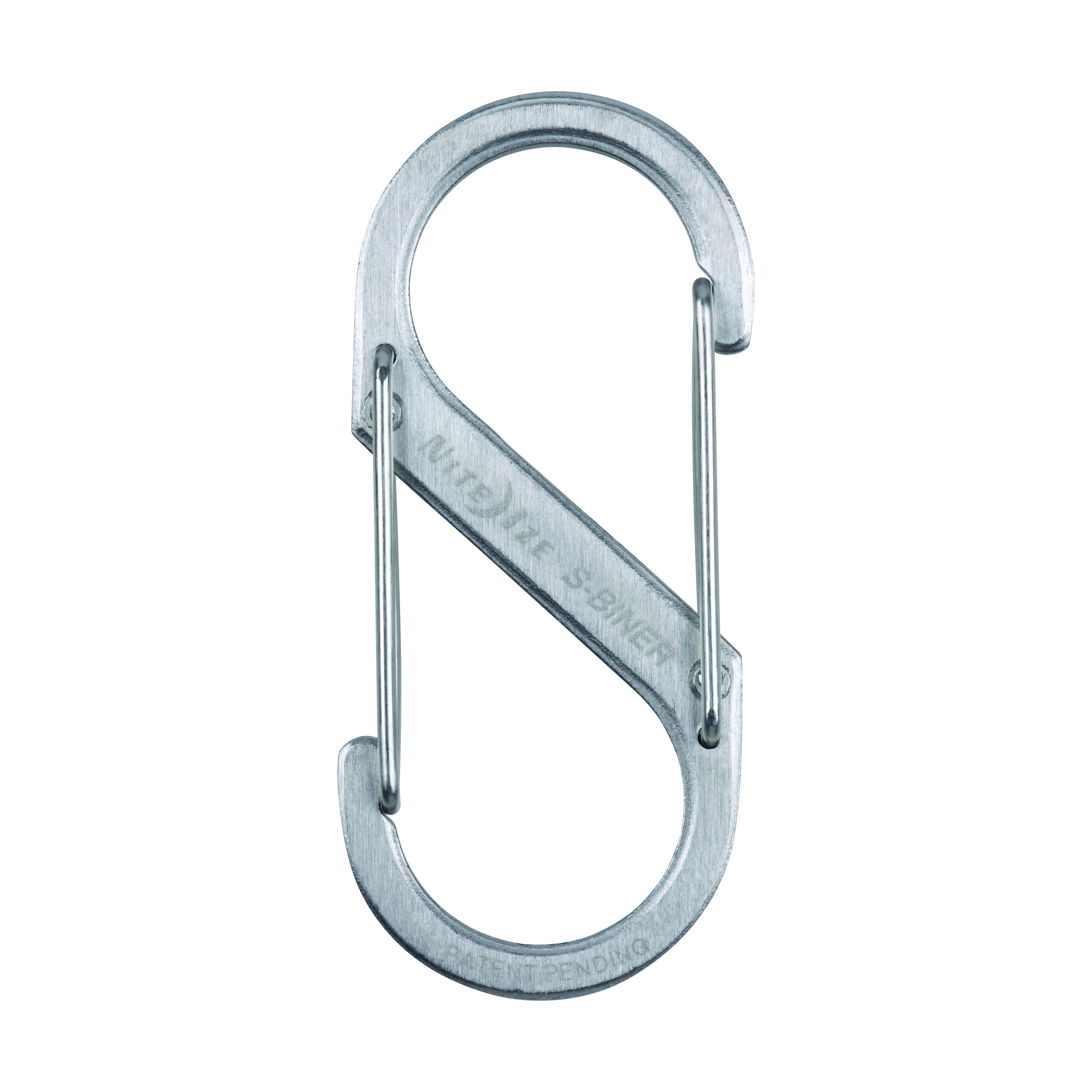 SB3-03-11 - NITE IZE S-Biner Stainless Steel Double Gated Carabiner #3 - Stainless