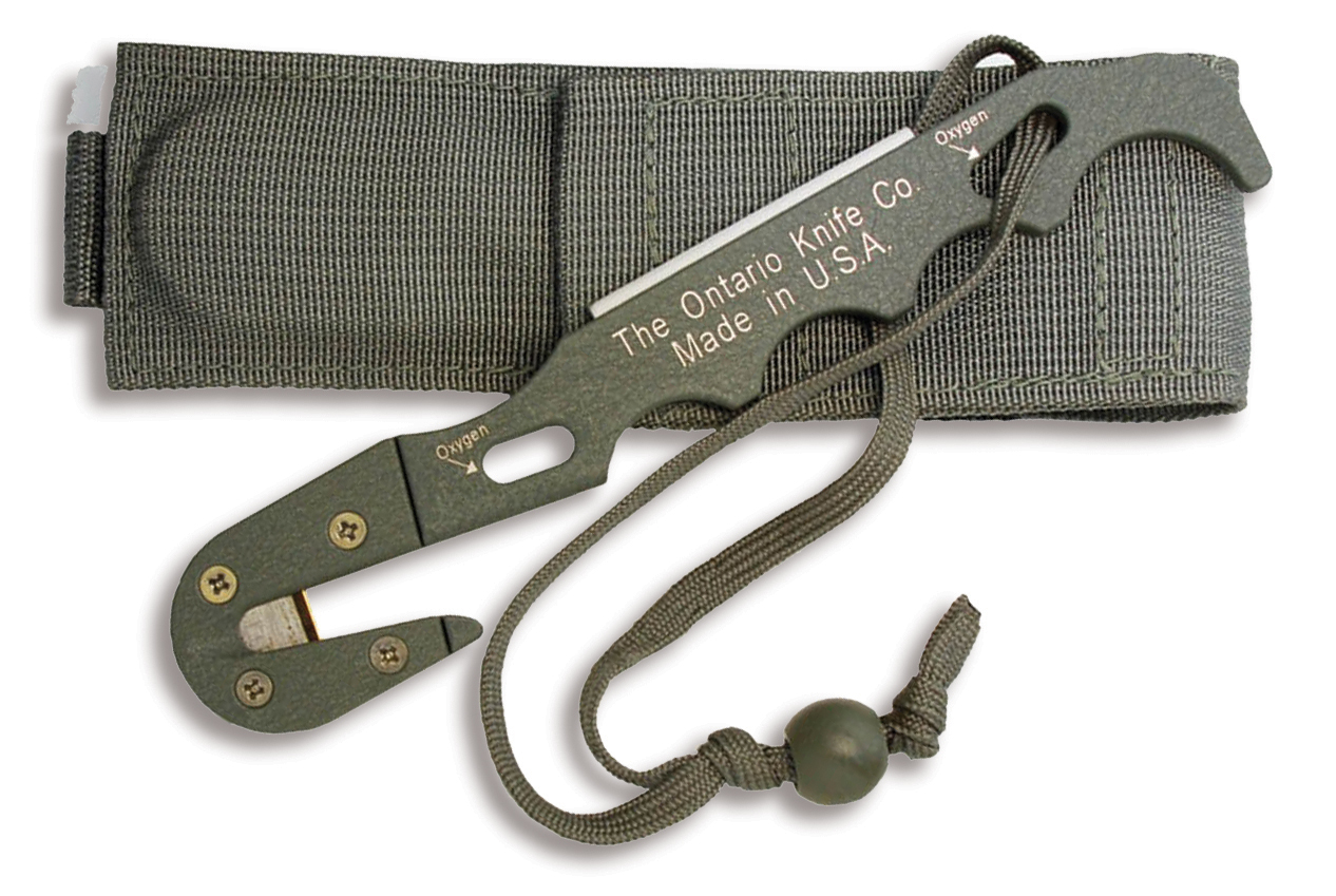 1406 - ONTARIO Model 1 Strap Cutter (NSN: 4240-01-547-5933)