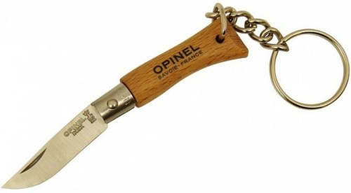 000065 - OPINEL Nø02 Keyring Stainless Steel 3.5cm