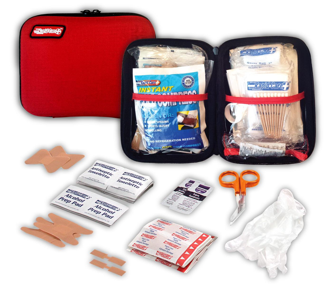 80006 - RAPID CARE 37 Pc. First Aid Kit