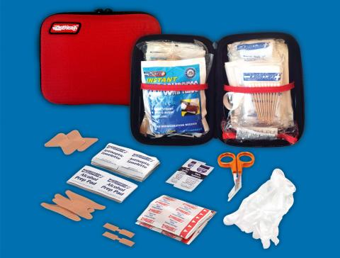 RC-UV-108 - Rapid Care 108 pc First Aid Soft Pack
