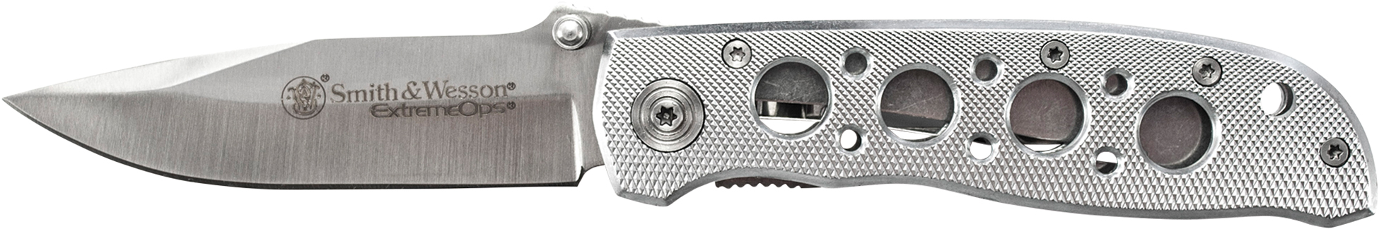 CK105H - Smith & Wesson Extreme Ops Silver w/Holes
