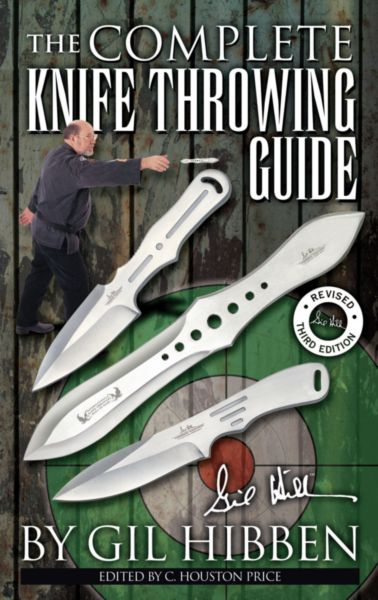 UC0882 - UNITED  GIL HIBBEN KNIFE THROWING GUIDE AUTOGRAPHED