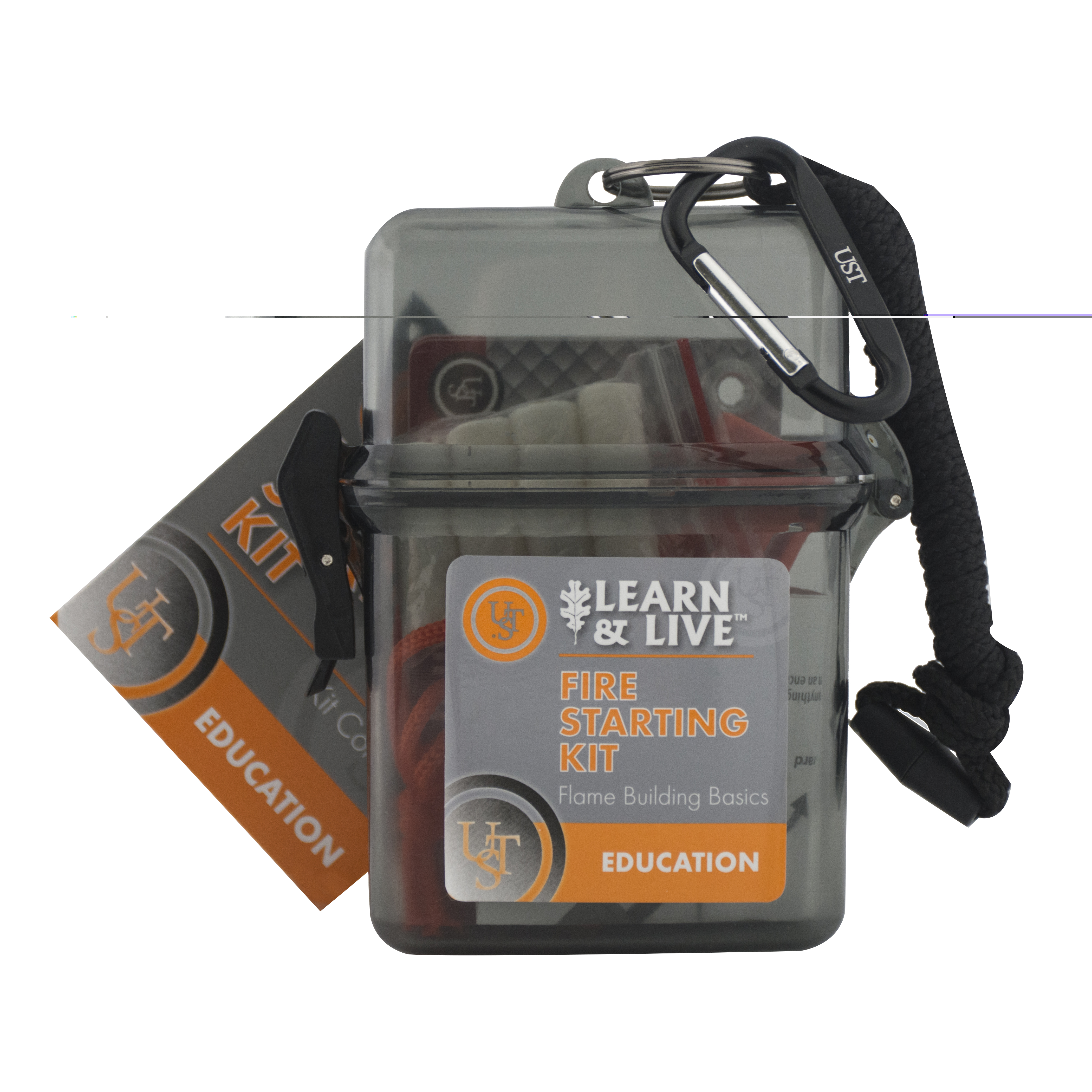 20-02760 - UST Brands Learn & Live Kit - Fire Starting Hang Sleeve