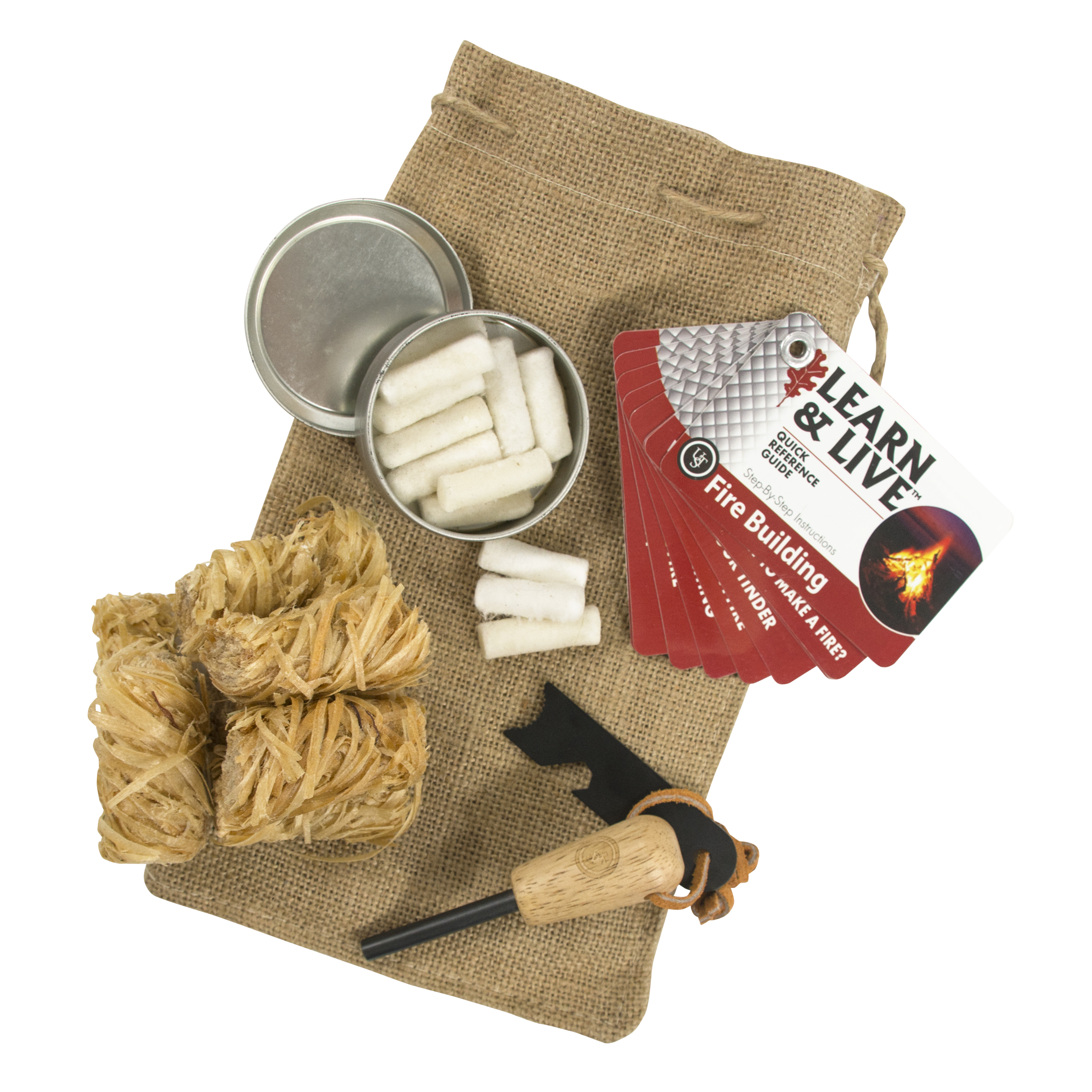 20-12119 - UST Brands Heritage Campfire Kit Peggable Box