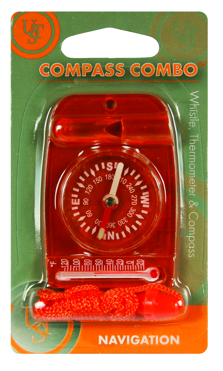 20-310-35-2A - UST Brands Compass Combo, Orange Blister