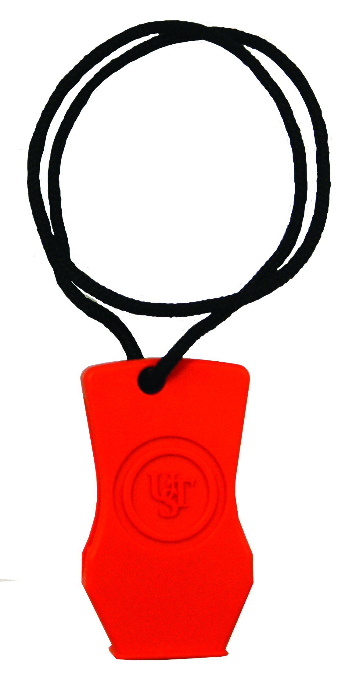 20-51143-08 - UST Brands JetScream Micro Whistle, Orange Blister