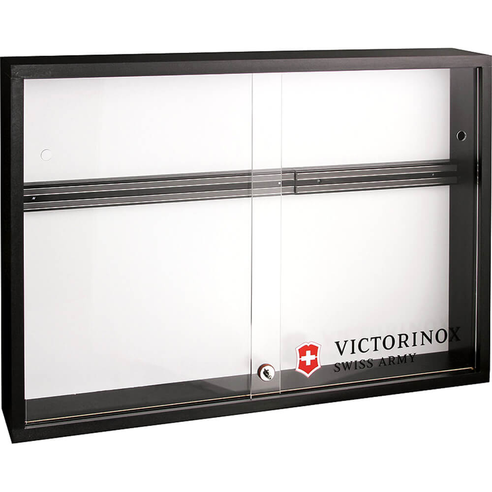 10001 - VICTORINOX Locking Magnetic Display Case with Acrylic Doors, 31.50