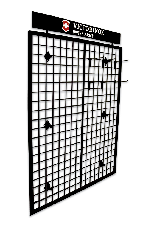 10015 - VICTORINOX Wire Grid Wall Display, 48