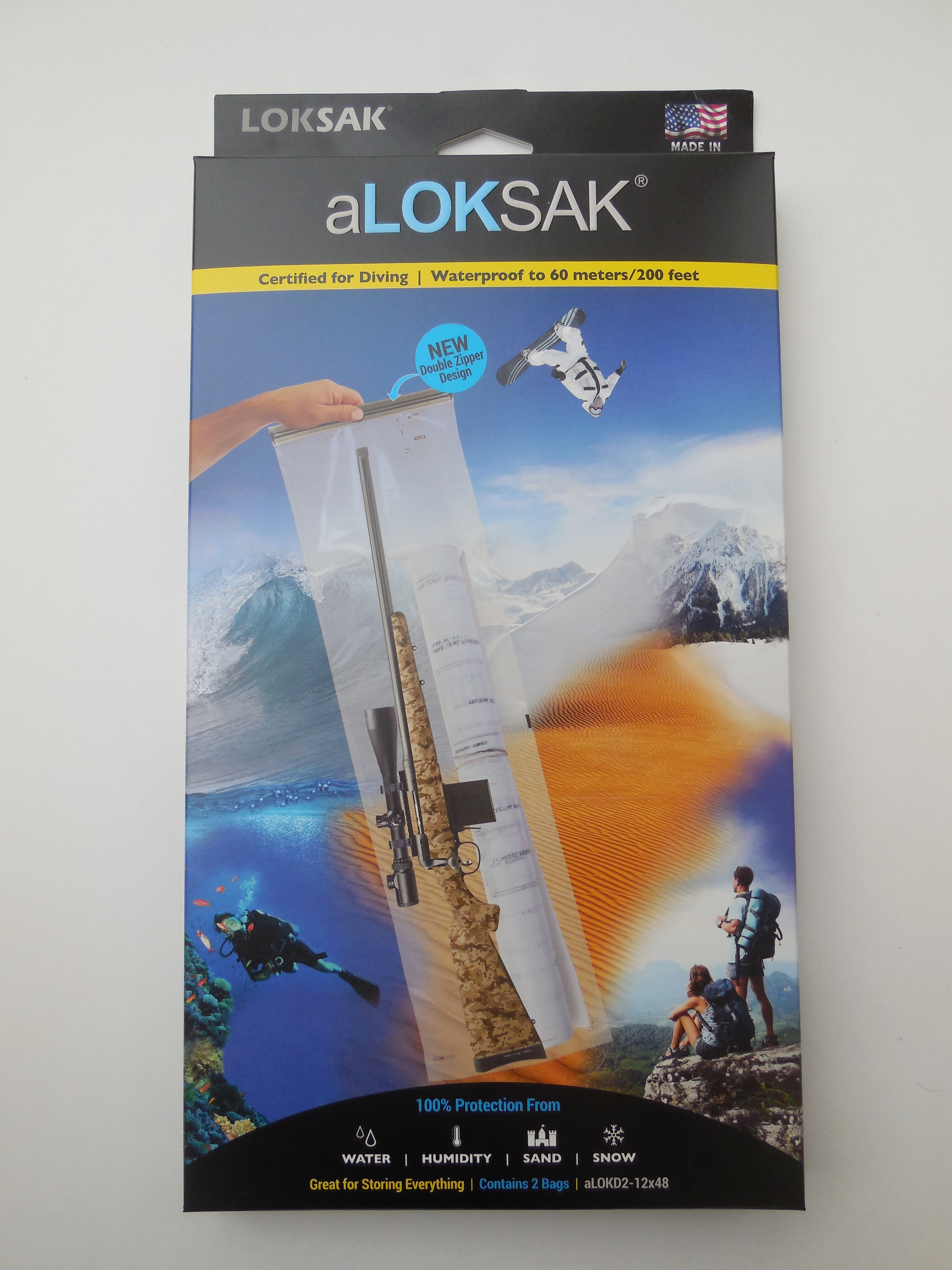 ALOKD2-12x48 - LOKSAK 2 each of 12