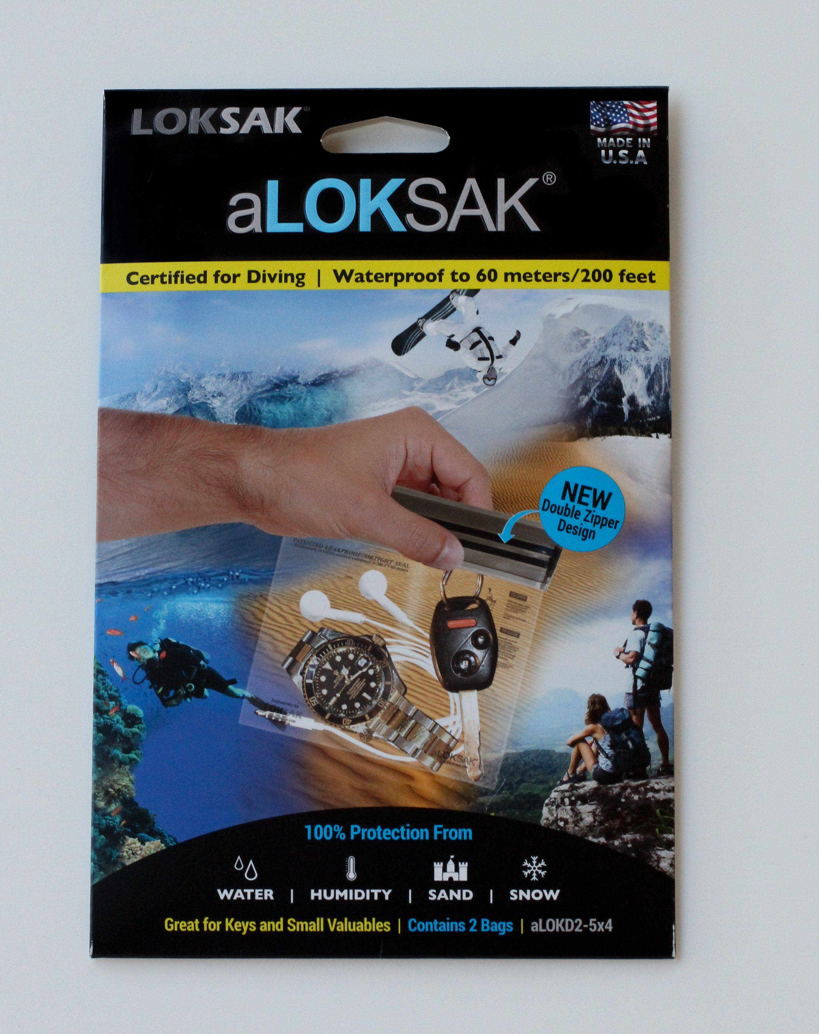 ALOKD2-5x4 - LOKSAK 2 each of 5