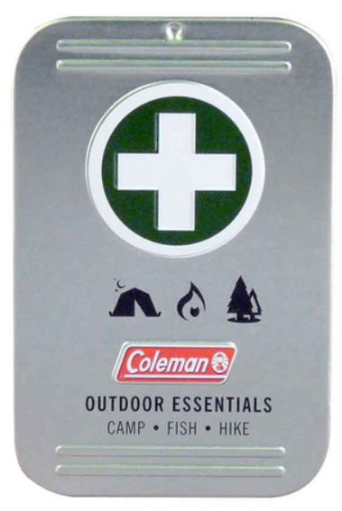 7606 - WPC Coleman Outdoor Essentials First Aid Tin
