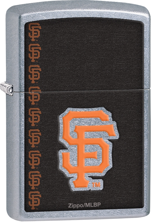 29112 - ZIPPO MLB San Francisco Giants, Street Chrome