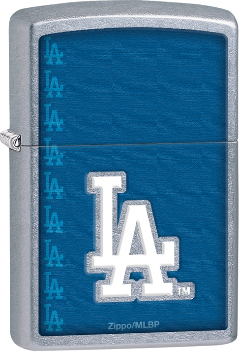 29114 - ZIPPO MLB Los Angeles Dodgers, Street Chrome