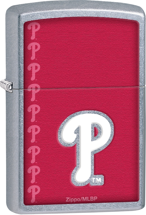 29118 - ZIPPO MLB Philadelphia Phillies, Street Chrome