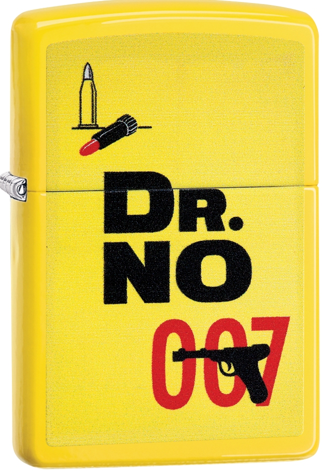 29565 - ZIPPO 007 James Bond Dr. No Yellow Matt
