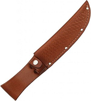 "10SH - BEAR LEATHER SHEATH (FITS UP TO 4"")"