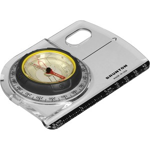 F-TRUARC5 - BRUNTON TruArc5 Baseplate Compass, Global Needle, Map Magnifier, Inch/MM Scale