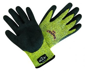 89107-XLG - BUCK Mr. Crappie Cut Resistant Gloves