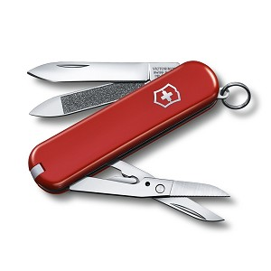 0.6423.US1 - Victorinox, Executive 81 Red, Clam Pack Small, 65mm